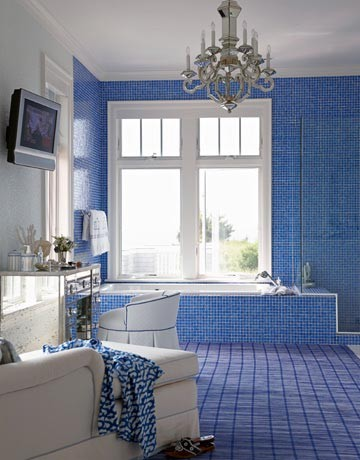 Cool blue bathroom design ideas bathroom design ideas for Blue bathroom ideas
