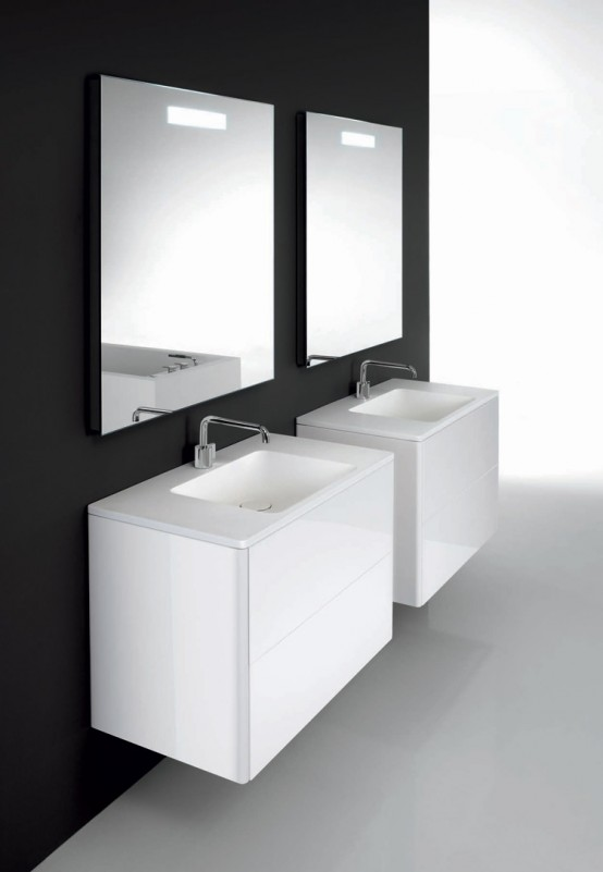 Minimalist functional bathroom furniture bathroom design for Minimalist furniture design